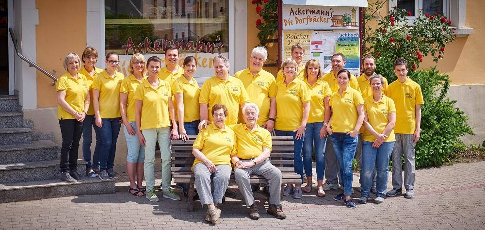 Dorfbäckerei Ackermann Teamfoto